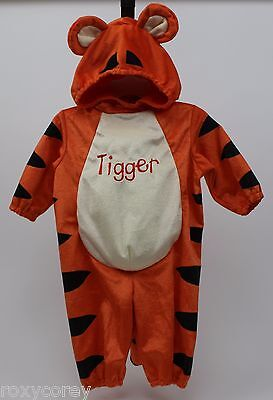 Halloween Disney Winnie The Pooh Tigger Plush Costume Size 9-12 months - Halloween Costumes 9 12 Months