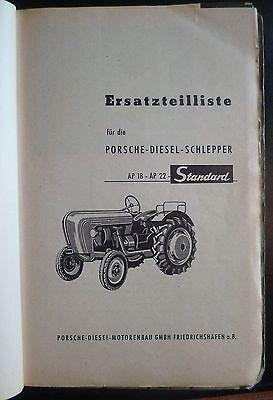 Porsche Bremsbelag Schlepper AP 18 AP 22 P 122 4 Stück