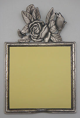 Memo Pad Holder - Rose Includes Sticky Pad Item 1394. Rocket Fast Shipping