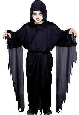 Scream Robe Screamer Ghost Boys Girls Childs Halloween Fancy Dress Costume 4-12