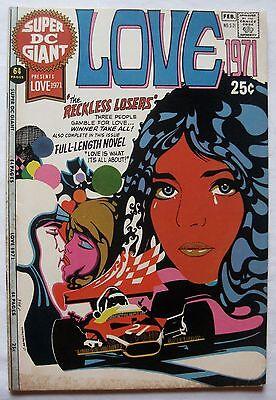 Super DC Giant #21 LOVE 1971 scarce Romance Comic VG+