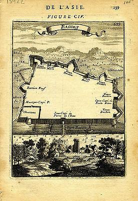 1683 Genuine Antique map
