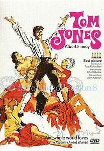 Tom Jones (1963) - Albert Finney, Susannah York - DVD NEW