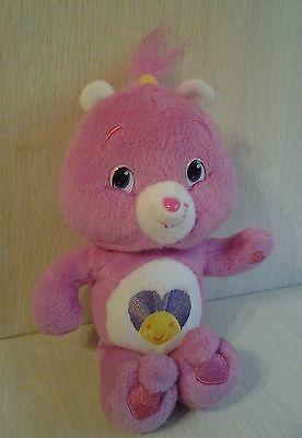 "2007 Shine Bright Care Bear Plush 9"" Authentic"