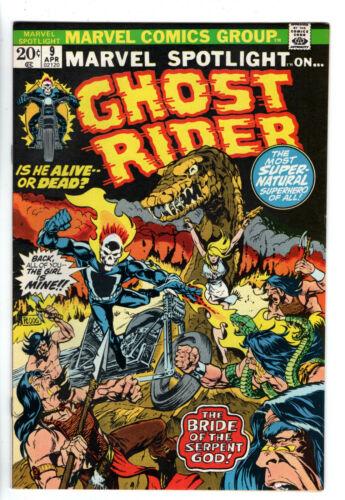 MARVEL SPOTLIGHT #9 (1971) - Grade 9.0 - Ghost Rider!