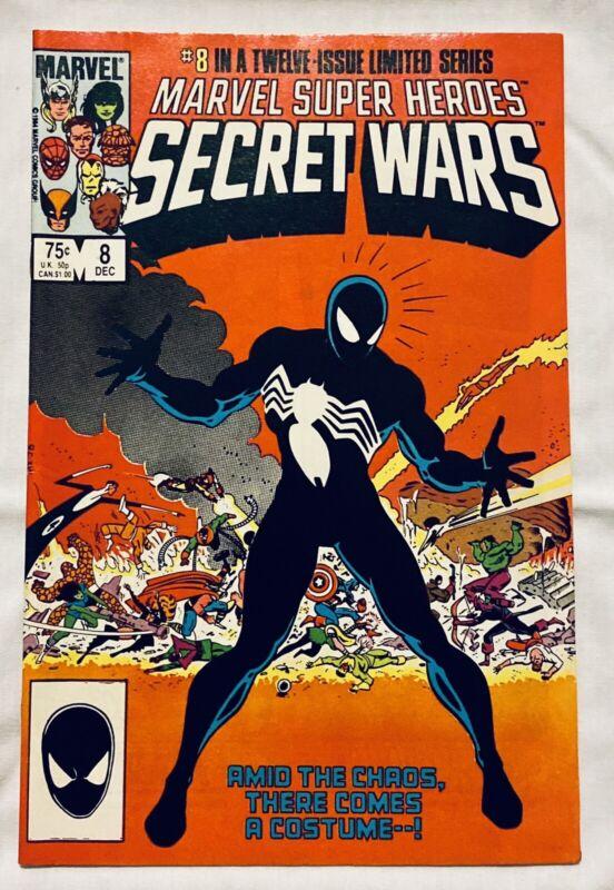 🔥MARVEL SUPER HEROES SECRET WARS #1-12 W/#8**1ST APP OF BLACK SUIT SPIDER-MAN**