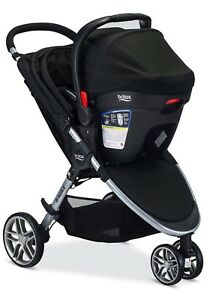 Britax B Agile Travel System with Car Seat