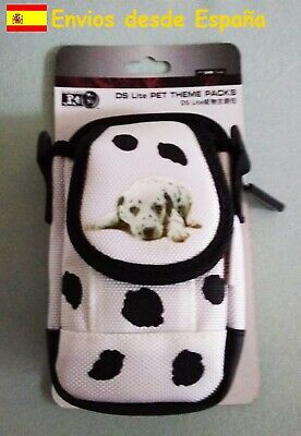 Bolso de transporte para Nintendo DS Lite Pet (Color blanco)