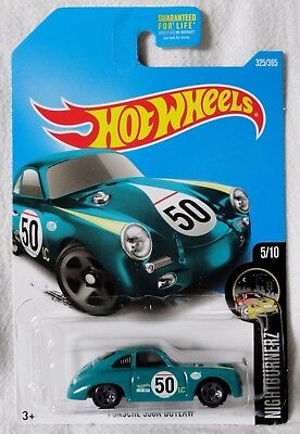 "2017 Hot Wheels Custom Porsche 356A Outlaw ""CASE Q"" Ships World Wide"