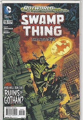 Swamp Thing #15 New 52 vol 5 DC Comics 2011 NM-