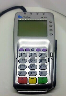Verifone M252 Credit Card Machine -vx805 Pin Pad Emv Contactless Tap