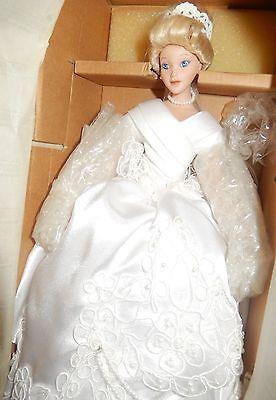 "Disney ""Cinderella Bride"" Porcelain Doll by Ashton-Drake Galleries"