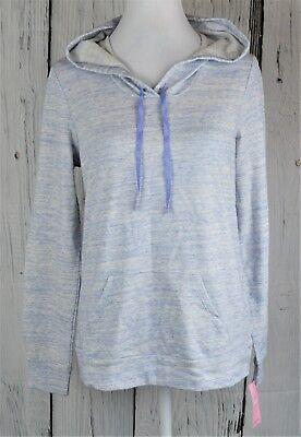 Jenni Intimates Hooded Pajama Top Pullover Sleepwear PJ Easter Egg Blue Large L - Easter Sleepwear