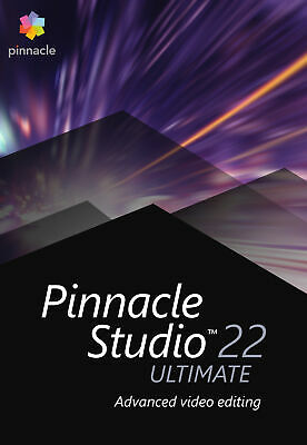 Pinnacle Studio 22 Ultimate, Deutsch Vollversion ESD Lizenz Download #KEY