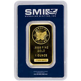 Daily Deal! Sunshine Minting 1 Troy Oz. .9999 Gold Bar *MADE IN USA* SKU26817