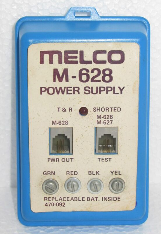 melco M-628  Power Supply Diganostic Tester