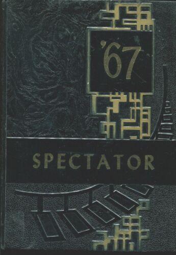 CIVIC MEMORIAL HIGH SCHOOL, BETHALTO, ILLINOIS YEARBOOK - SPECTATOR - 1967