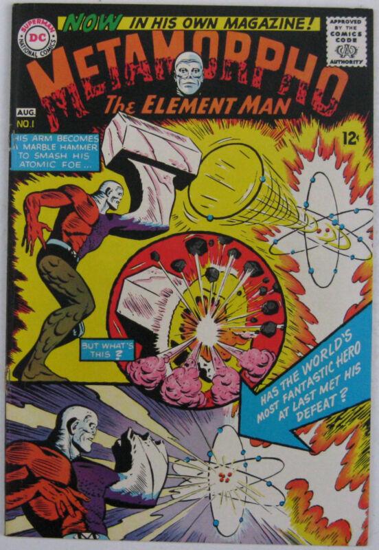 Metamorpho #1 (Jul-Aug 1965, DC), VFN-NM condition