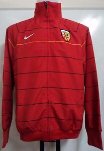 R-C-LENS-RED-HOOPED-TRACK-JACKET-BY-NIKE-ADULTS-SIZE-LARGE-BRAND-NEW-WITH-TAGS