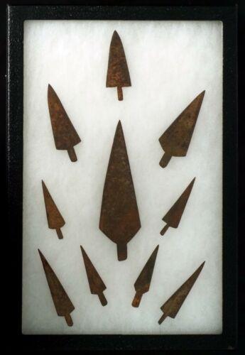Anasazi LONG HISTORIC IRON point SPEAR HEAD ARROWHEAD POINT TIP LOT