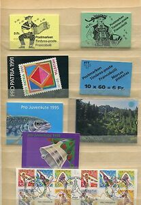 Schweiz o - MH aus 1984 - 98 - KW 174,-- € ( 38278 )