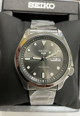 SEIKO 5 Automatic Men's Watch Steel Bracelet Day-date SRPE51 Made In Japan