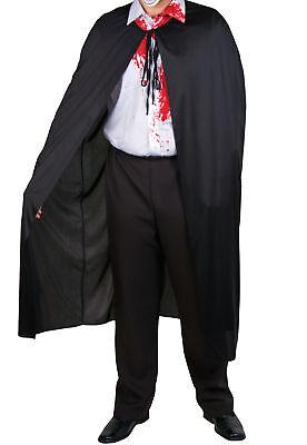 Schwarzer Teufel Halloween-kostüme (schwarzer Umhang Cape Vampir Teufel Halloween Kostüm)