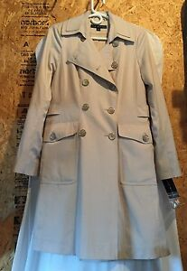 Via Spiga designer trench coat- new with tags!