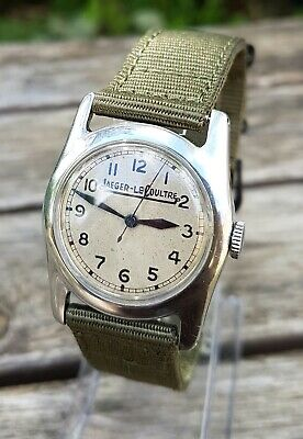 Jaeger LeCoultre 1940s Pilot watch, military Cal 450, Rare watch!! Weems type