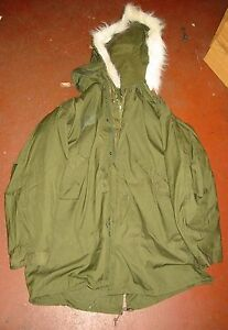 UNISSUED-G-I-MOD-M-65-FISHTAIL-PARKA-W-LINER-HOOD-LARGE-UNUSED