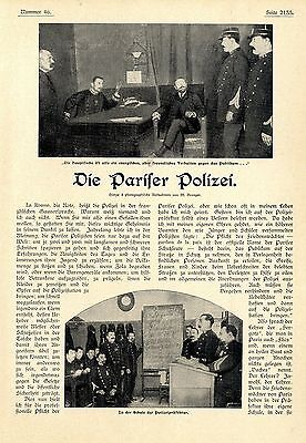 Karl Eugen Schmidt Paris Die Pariser Polizei Die Schule der Polizeipräfektur1902