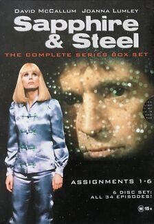 Sapphire & Steel UK Sci Fi DVD's