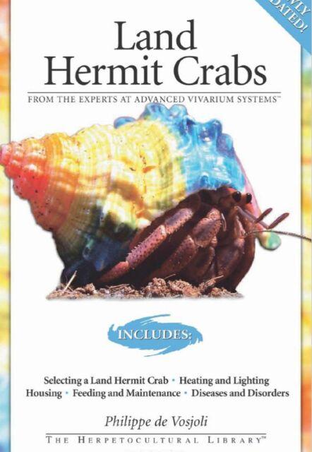 Land Hermit Crabs by Philippe De Vosjoli (Paperback)