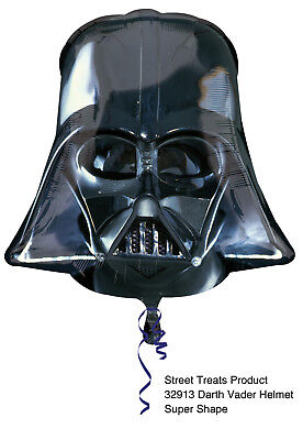 Star Wars Darth Vader ca. 80cm Luftballons Folienballon Geburtstag Figur deko