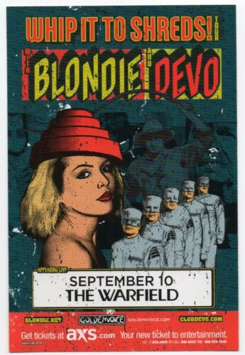 MINT ORIGINAL 2009 BLONDIE DEVO