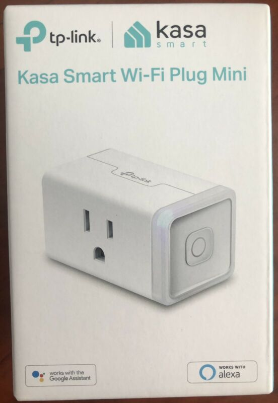 NEW TP-Link Kasa Smart Home WiFi Outlet - Alexa, Echo,Google Home & IFTTT