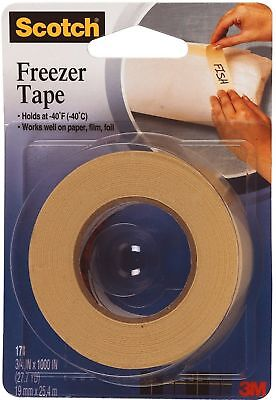 "Scotch Freezer Tape 3M 178 ¾"" x 1100"" 1 ea (Pack of 5)"