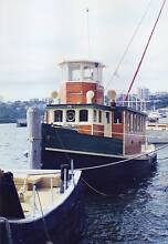 Nicholson Timber Tug Boat Copper Sheathing Woolooware Sutherland Area Preview