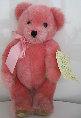 "Dean's Bear: ""Jemima"" Pink Jointed Teddy Bear: Dolls & Bears > Bears > Deans."
