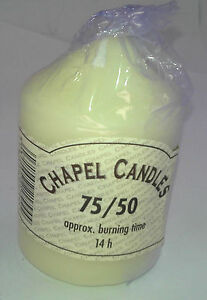 High Quality ivory church candles (pillar candles) many sizes availiable