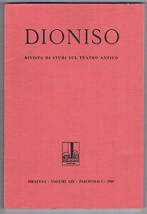 DIONISO-RIVISTA-DI-STUDI-SUL-TEATRO-ANTICO-VOLUME-LIX-Fascicolo-I-1989