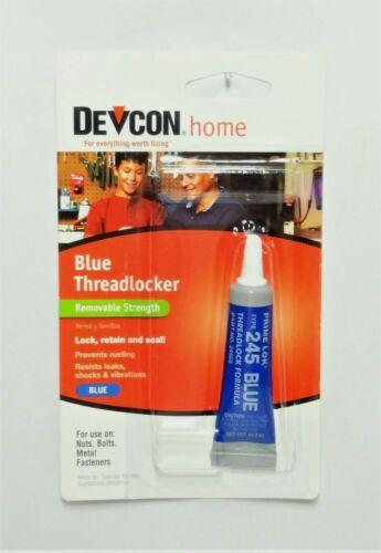 DEVCON HOME 245 BLUE REMOVABLE THREADLOCKER ( 0.2 OUNCE )( PART # 24345 )