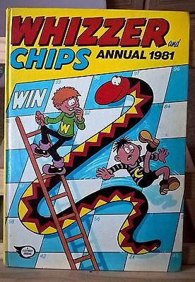 Whizzer and Chips annual 1981 (not price-clipped)