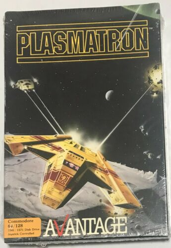 PLASMATRON by Avantage for Commodore 64 128 Game New Sealed