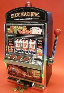 XL SLOTMACHINE Geld-Spielautomat Einarmiger Bandit Spardose Sparschwein 69-1219