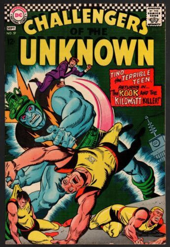 Challengers of The Unknown #57 FN/VF 7.0 DC Silver Age 1967 Higher Grade!!!