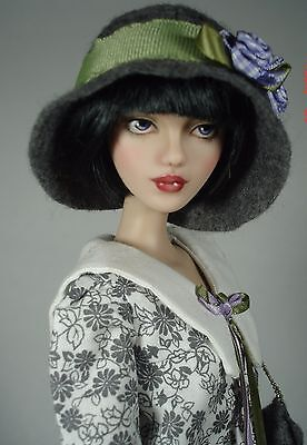 "OOAK hybrid Gene/Tonner 16"" doll repaint; Tillie - she's the bee's knees!"