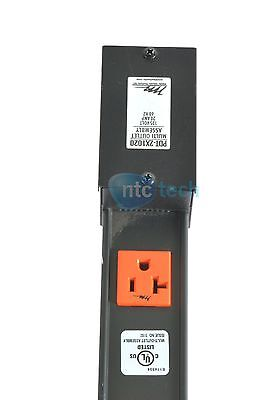 Middle Atlantic 125V Power Strip  20 Outlet  20A  Hardwired