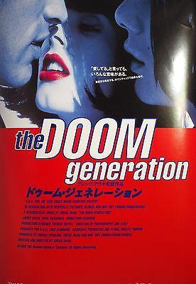Doom Generation 1995  Gregg Araki ULTRA RARE Chirashi Mini Movie Poster B5