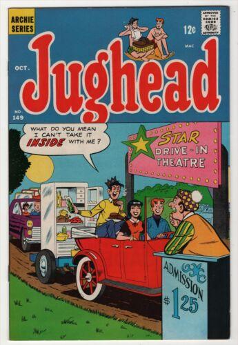 Jughead #149 VF/NM 9.0 high grade 1967 Archie Comic, create-a-lot & save